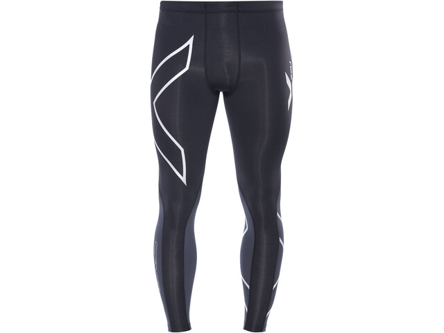40dc6d4bcc6fc 2XU Elite Compression Tights Men black/steel günstig kaufen | Brügelmann